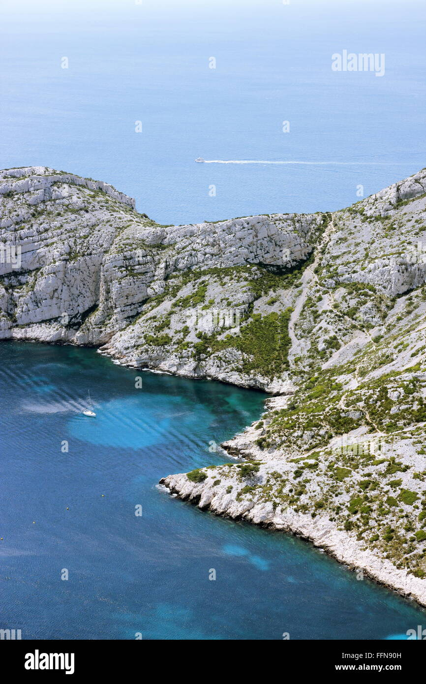 Geographie/reisen, Frankreich, Calanques,, Additional-Rights - Clearance-Info - Not-Available Stockbild