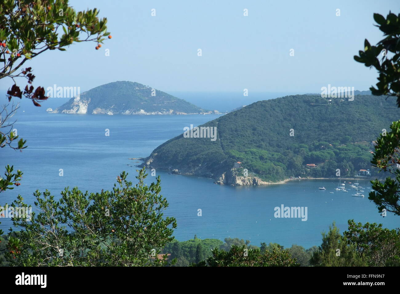 Geographie/Reisen, Italien, Elba, die Bucht von Procchio, Additional-Rights - Clearance-Info - Not-Available Stockbild