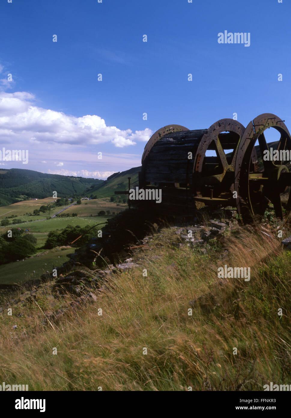 Bedwellty Pitts Steigung Motor in der Nähe von Tredegar Sirhowy Valley South Wales Valleys UK Stockbild