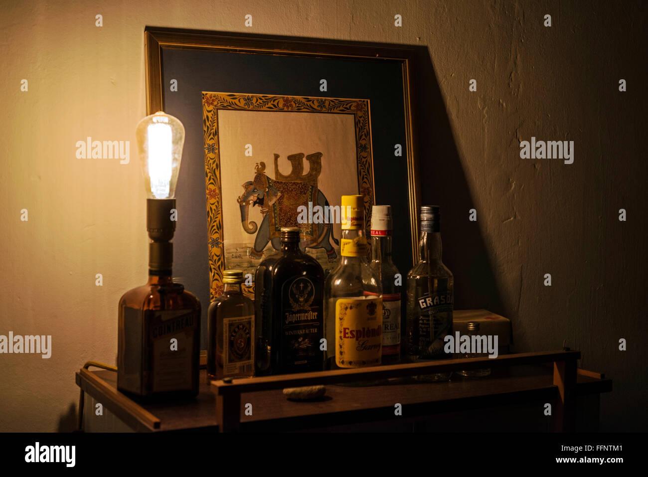 Indisch angehauchte klassischen Hausbar Stockfoto, Bild: 95752049 ...