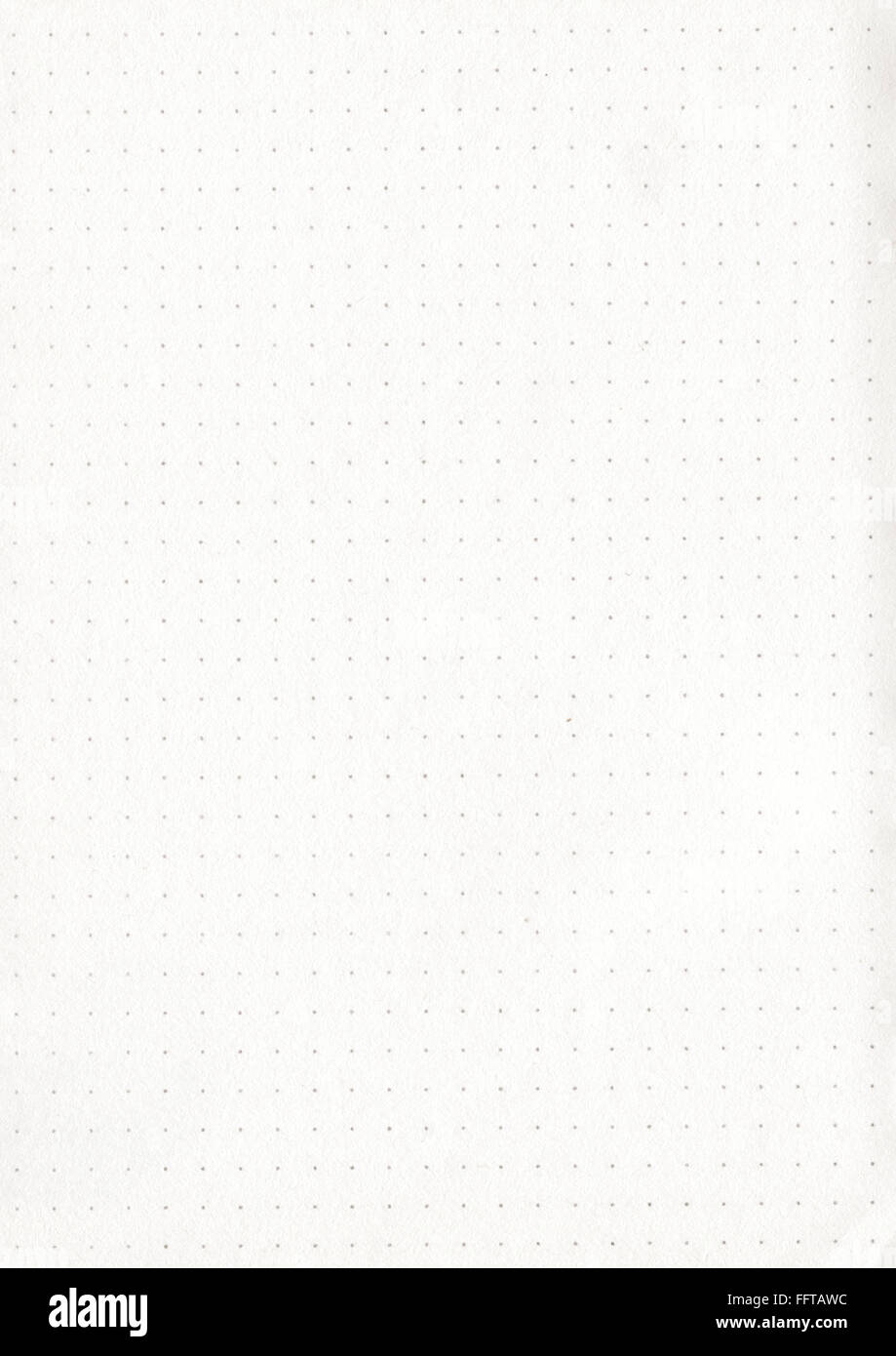 Papier Blatt Gepunktet Punkte Punkte Zettel Kopierpapier Schreibunterlage Schreiben Papeterie Stift Malen Zeichnen Stockbild