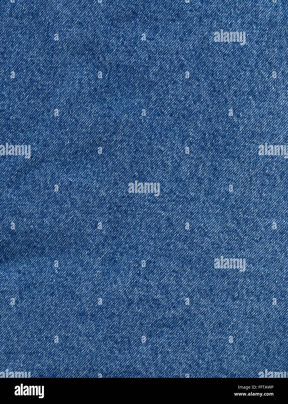 Jeans Jeansstoff Stoff Hintergrund Struktur Hintergrund Abstrakt Gründung Kleidung Klamotten Blau Canvas Nahaufnahme Stockbild