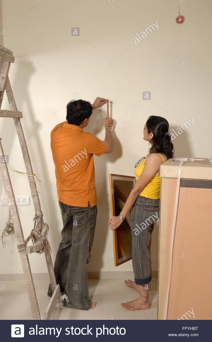 India Man Women Indian Drawing Stockfotos & India Man Women Indian ...