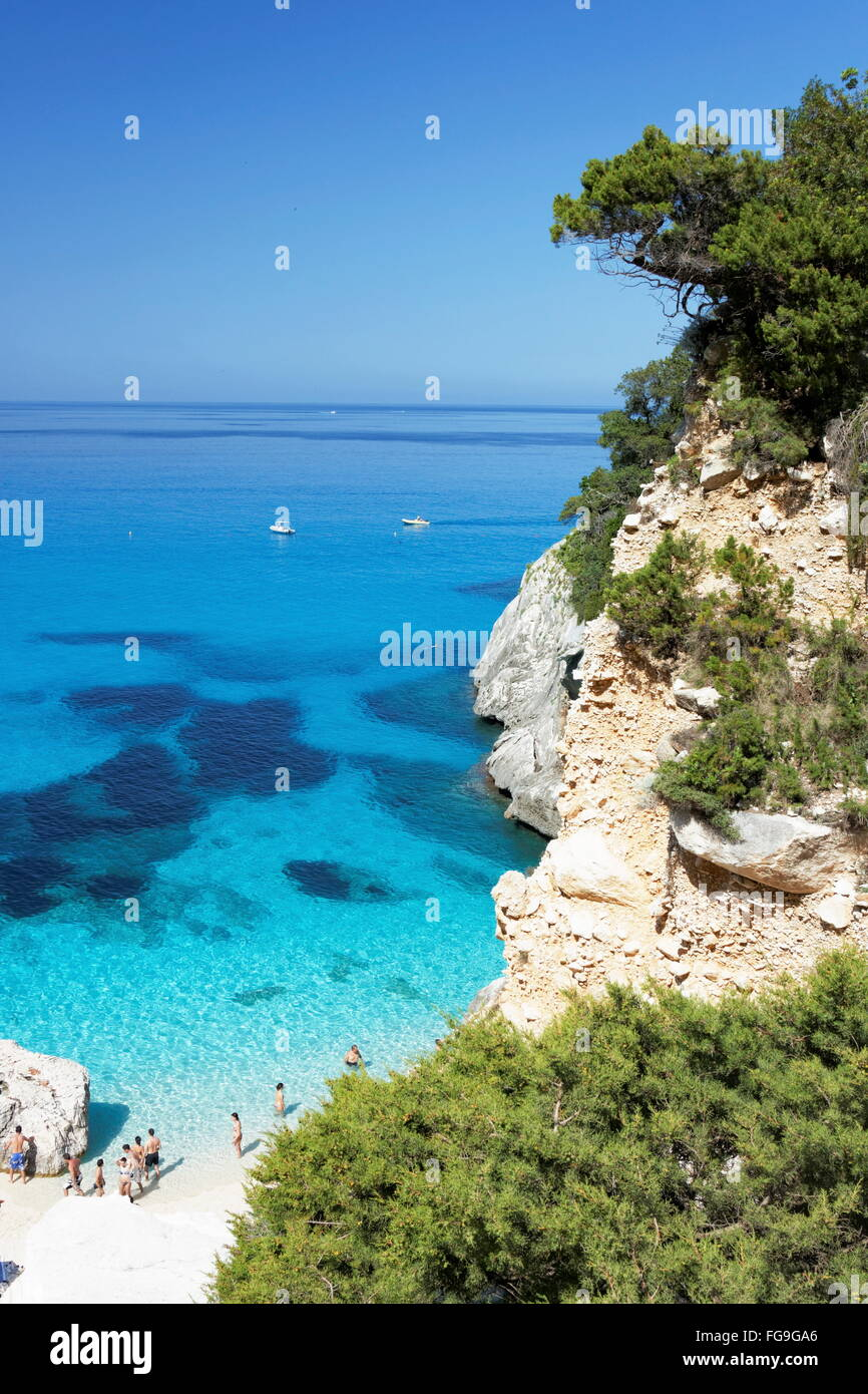 Geographie/Reisen, Italien, Sardinien, Cala Goloritze,, Additional-Rights - Clearance-Info - Not-Available Stockbild