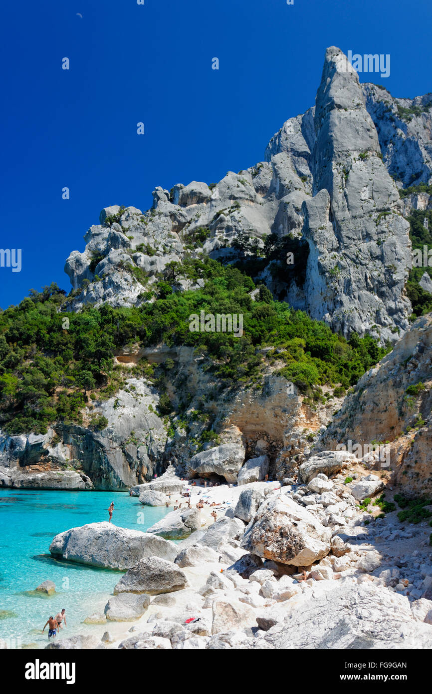Geographie/Reisen, Italien, Sardinien, Cala Goloritze, L'Aguglia, Additional-Rights - Clearance-Info - Not-Available Stockbild