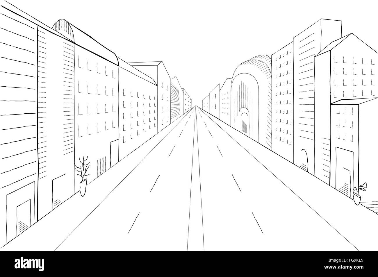 Linear Perspective For Interior Design