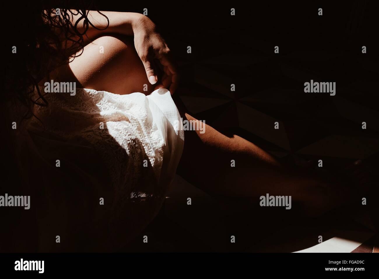 cropped stockfotos cropped bilder alamy. Black Bedroom Furniture Sets. Home Design Ideas