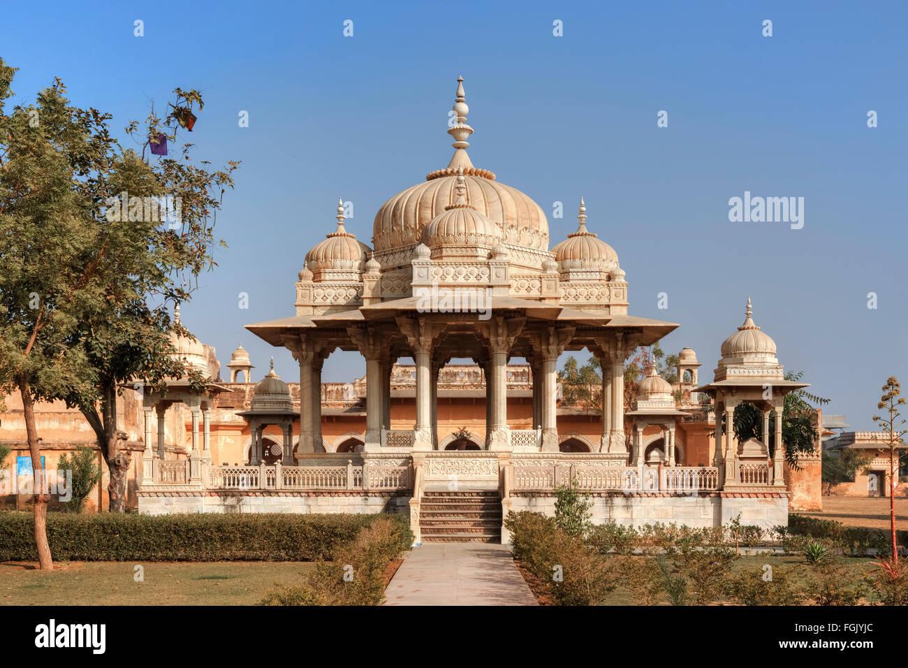 Gatore, Jaipur; Rajasthan; Indien Stockbild