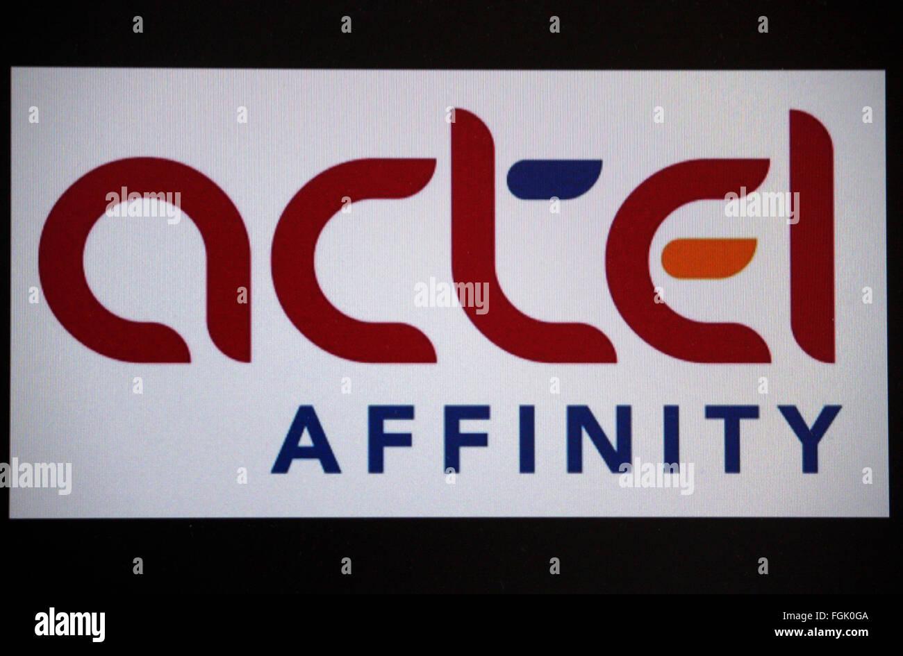 """Markenname: """"Actel Affinität"""", Berlin. Stockbild"""