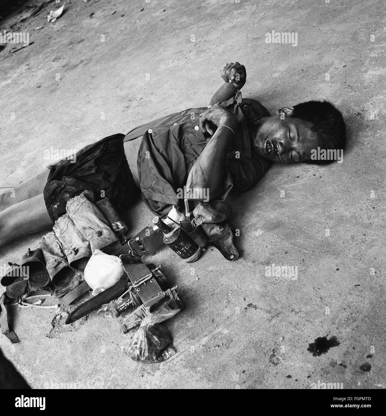 Mud, blood and horror: The brutality of the Vietnam war death pictures