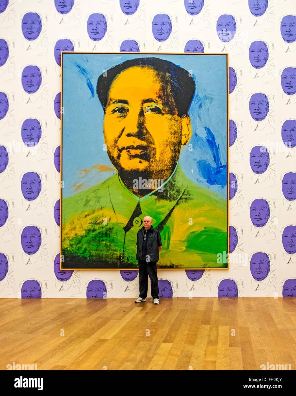 Andy Warhol Kunstwerke Mao Tse Tung In Das Hamburger Bahnhof