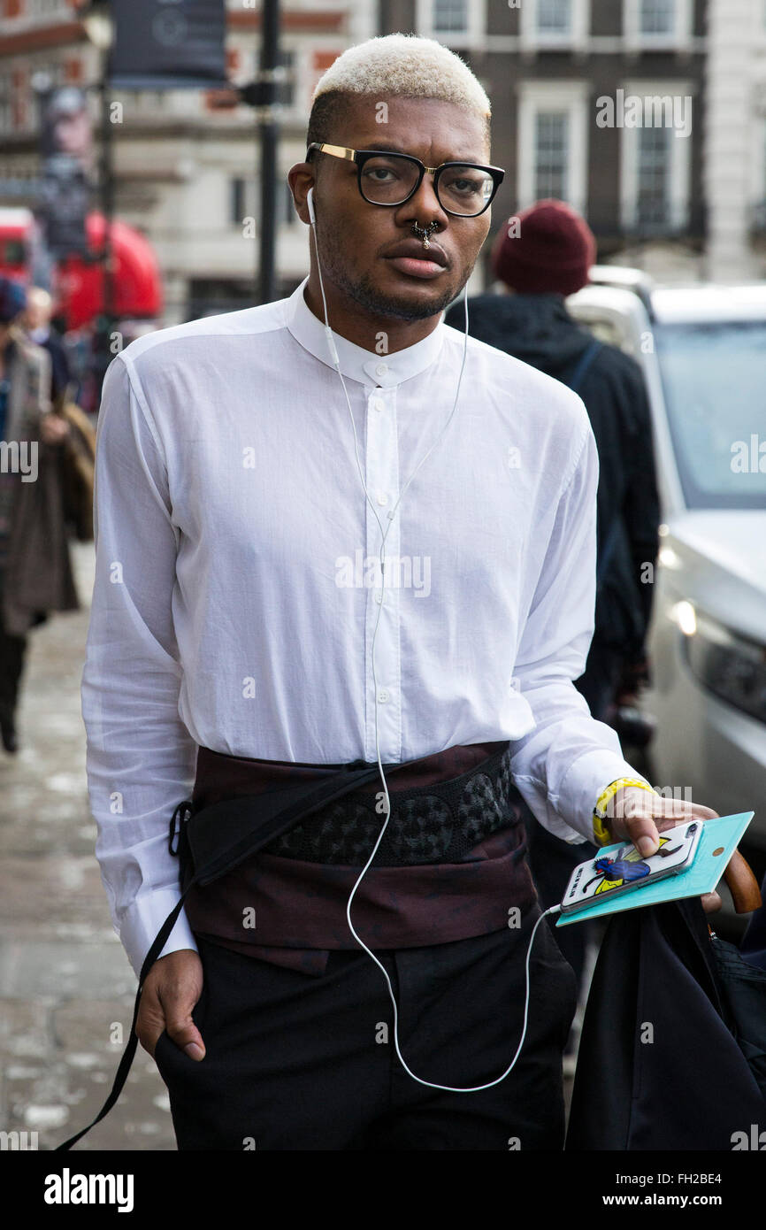 Street Style London Collections Men Fashion week, Herbst Winter ...