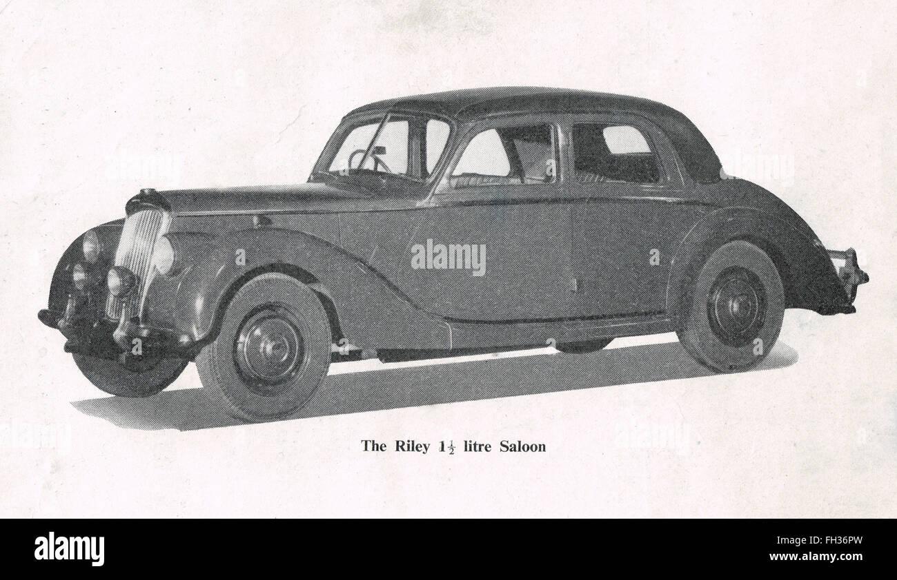 Riley RMA 1,5 Liter Oldtimer 1945-52 Stockbild