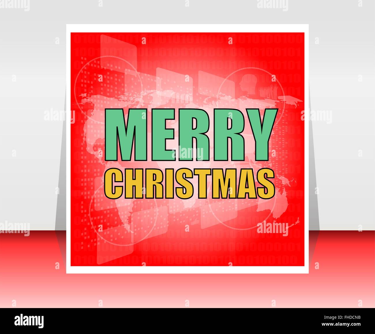 Weihnachten Postkarte Ornament Dekoration Hintergrund. Vektor ...