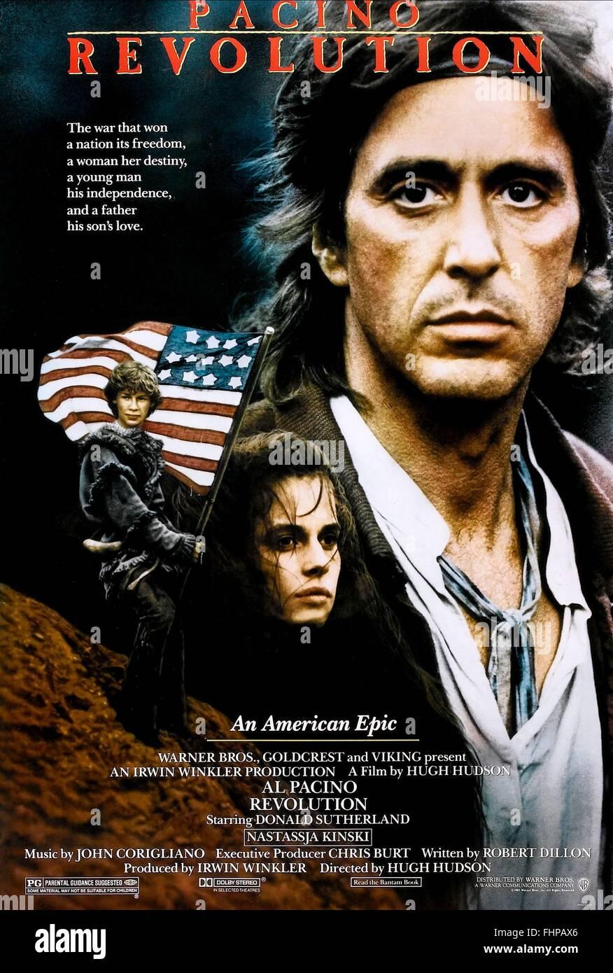 AL PACINO REVOLUTION (1985) Stockbild