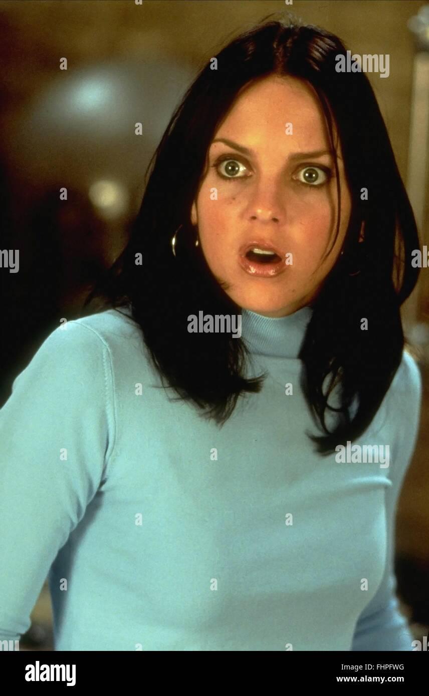 Anna Faris As Cindy Campbell Film Title Scary Movie 2 Stockfotos ...