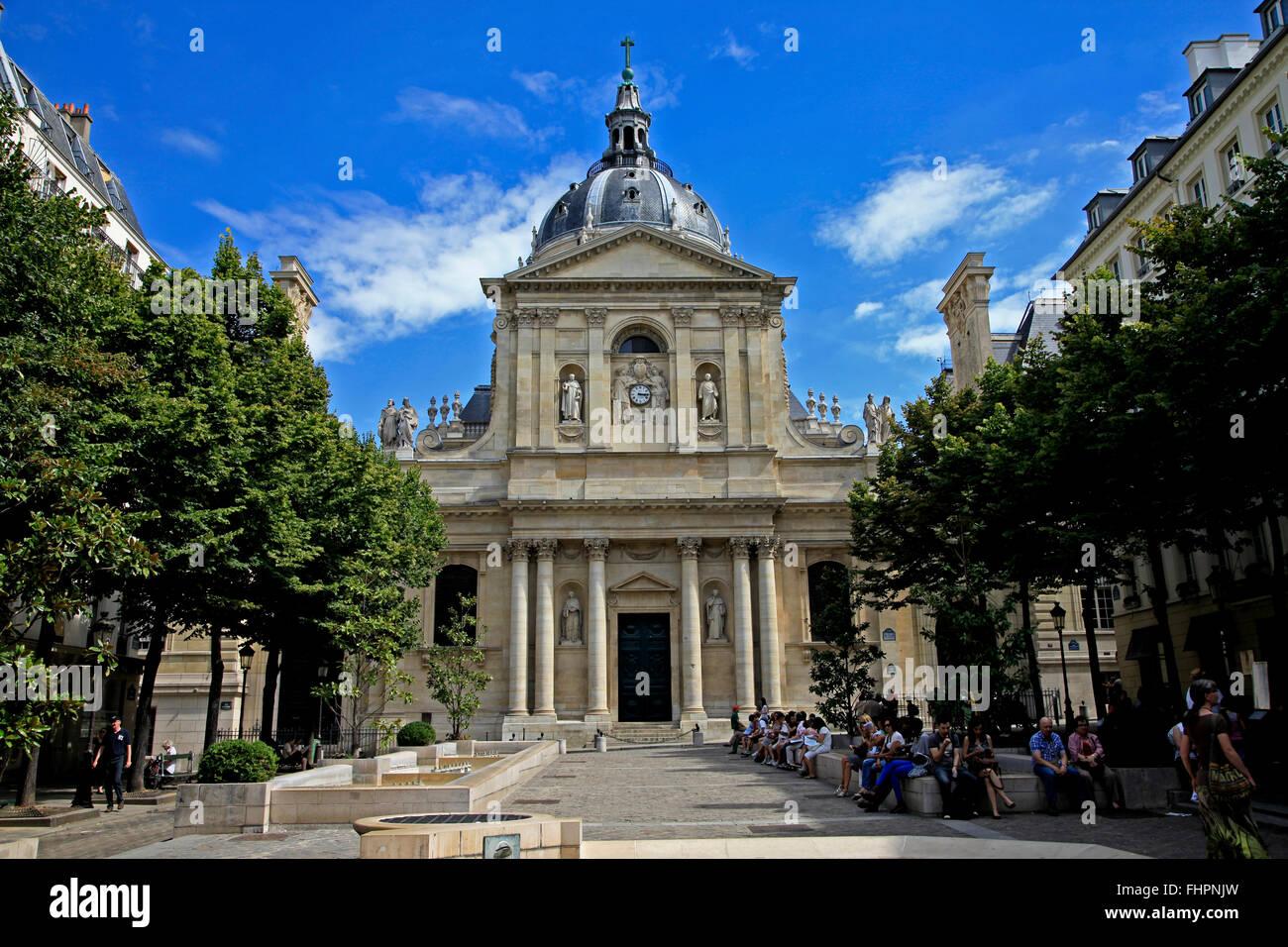 Sainte Ursule Kapelle an der Sorbonne in Paris, Frankreich Stockbild