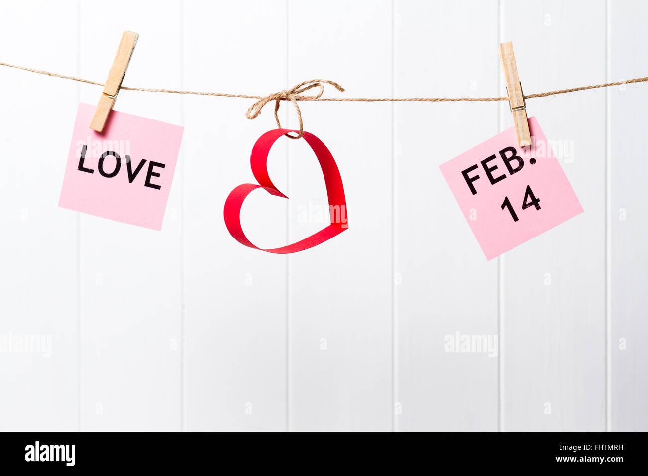 Datiert 2 Wochen Valentinstag Dan gemeint