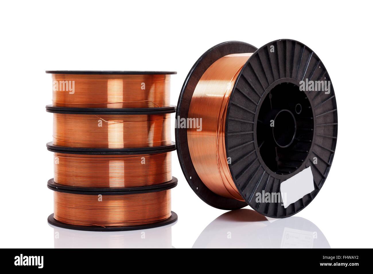 Metal Spools Stockfotos & Metal Spools Bilder - Alamy