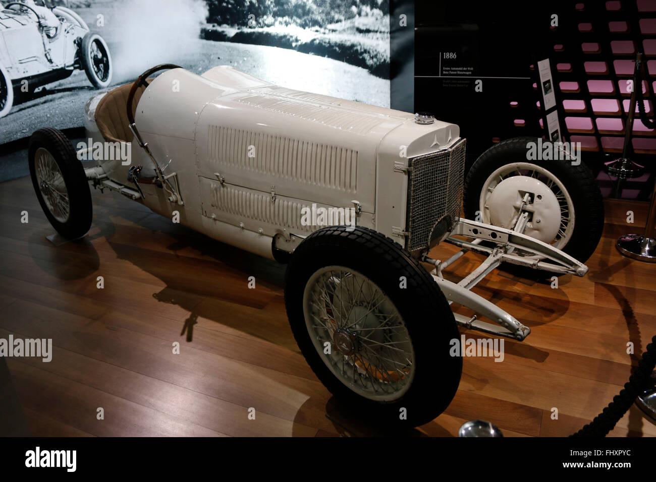 Mercedes Benz Oldtimer, Berlin. Stockbild