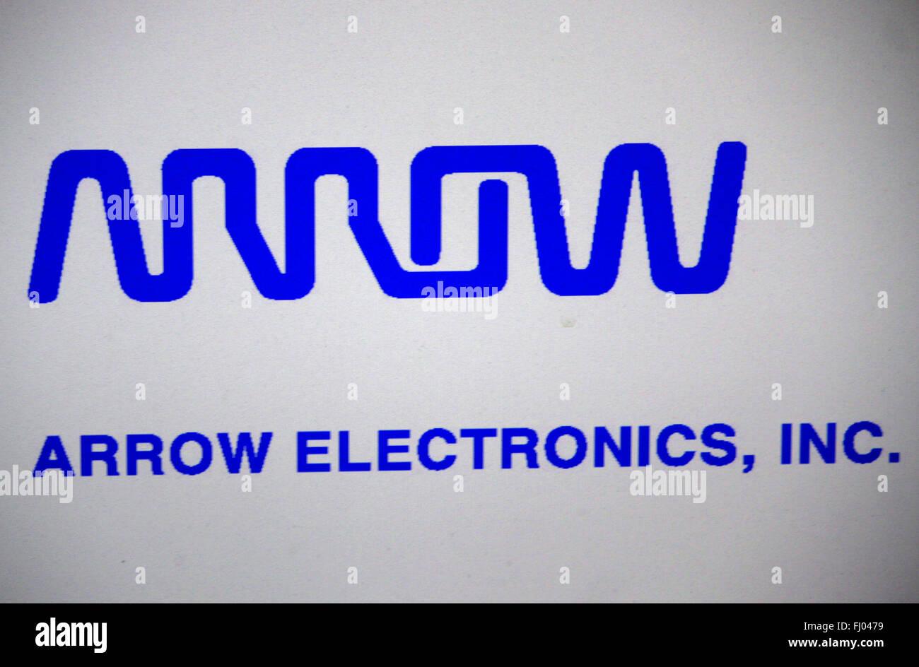 "Markenname: ""Arrow Electronics"", Berlin. Stockbild"