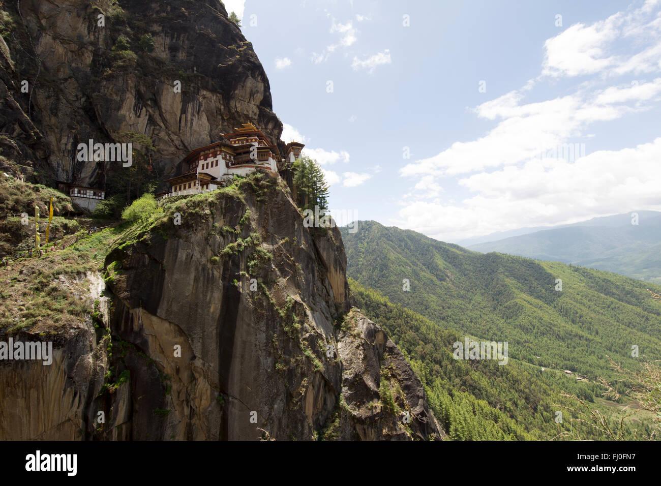 Tiger es Nest in Paro, Bhutan Stockfoto