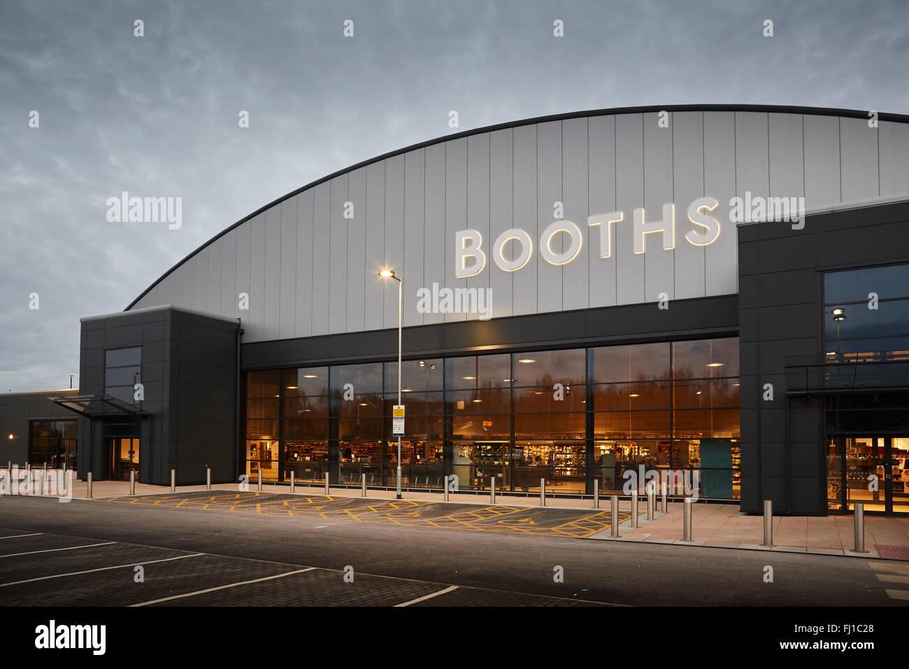 Ständen Supermarkt modernes Design Architektur in Burscough ...
