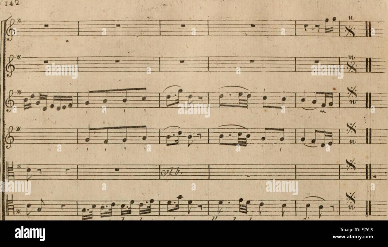 La Fausse Magie - comC3A9die En un Acte - Uvre XI (1775) Stockbild
