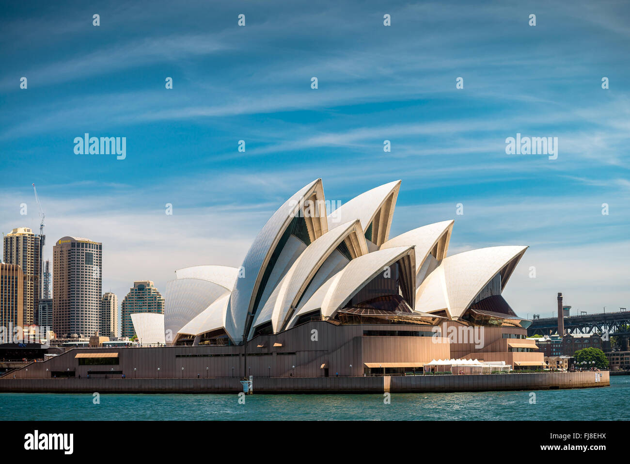 Sydney, Australien - 10. November 2015: The Sydney Opera House ist ein Multi-Veranstaltungsort Performing Arts Center Stockfoto