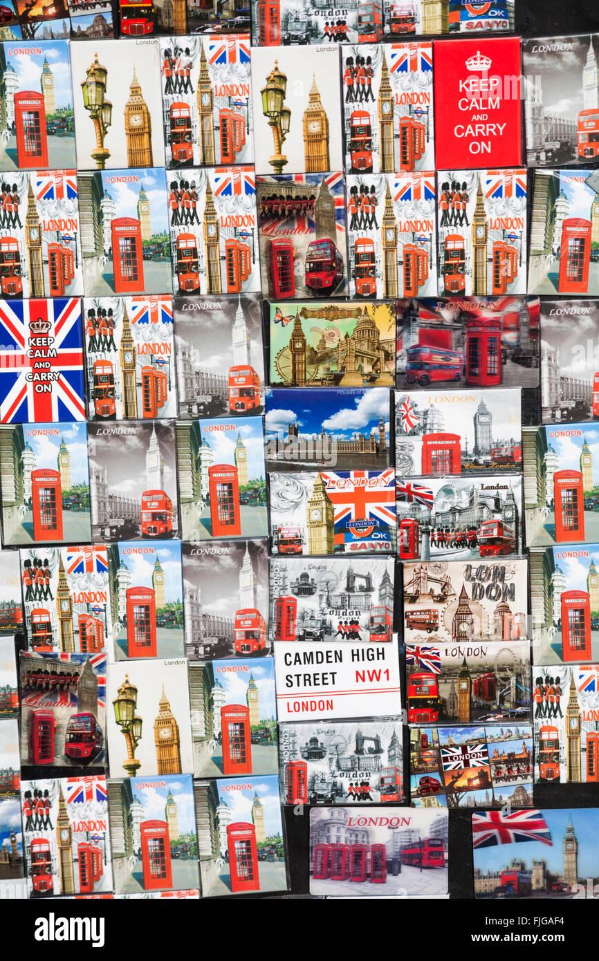 Kühlschrank-Magnete London Souvenirs zum Verkauf in Camden Town ...