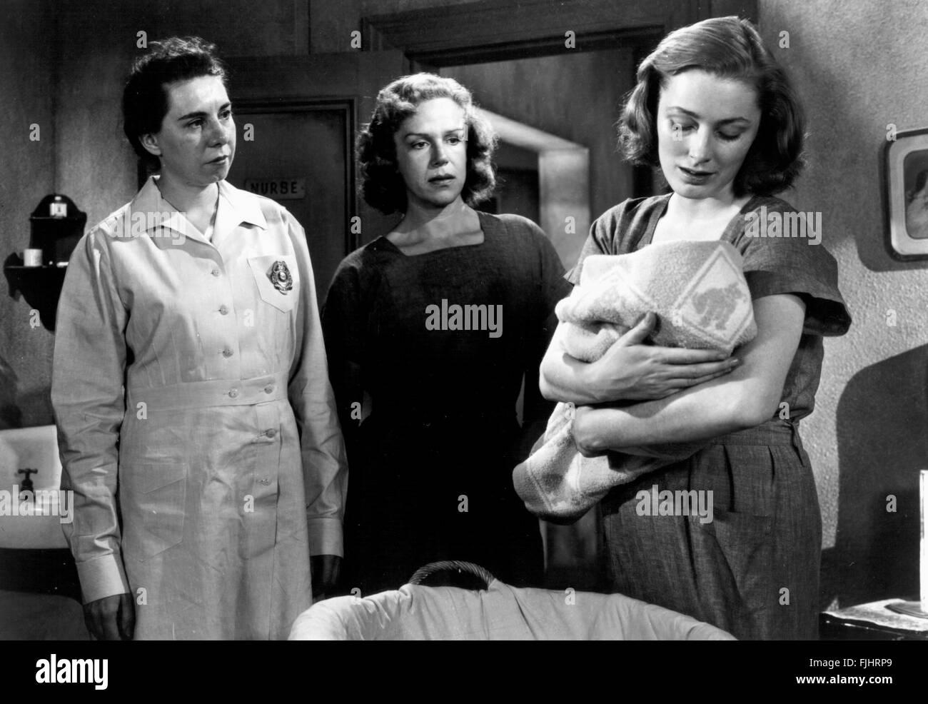 ELEANOR PARKER EINGESPERRT (1950) Stockbild