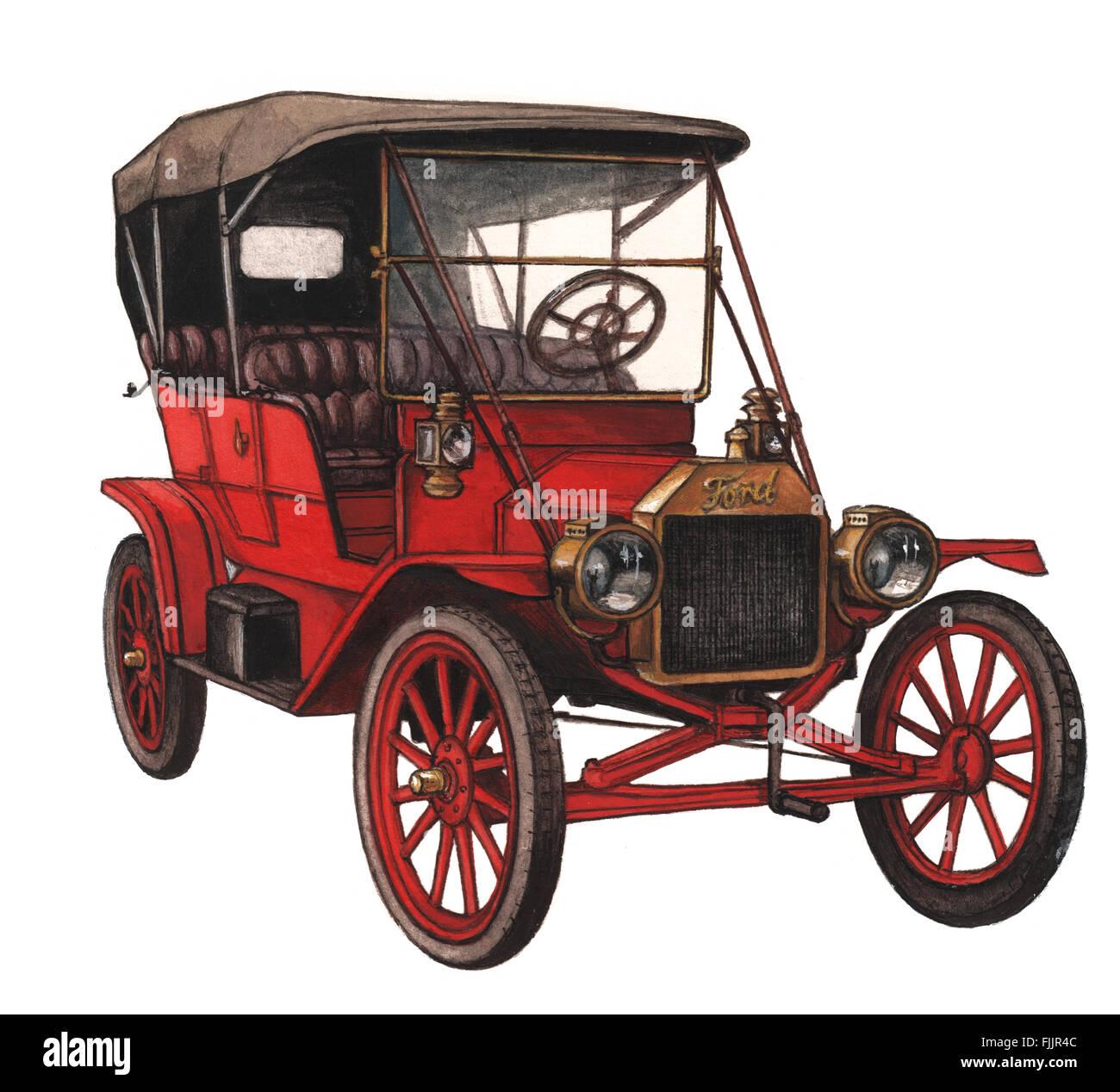 Beispiel für einen Ford T von Bohdan Wroblewski Stockbild