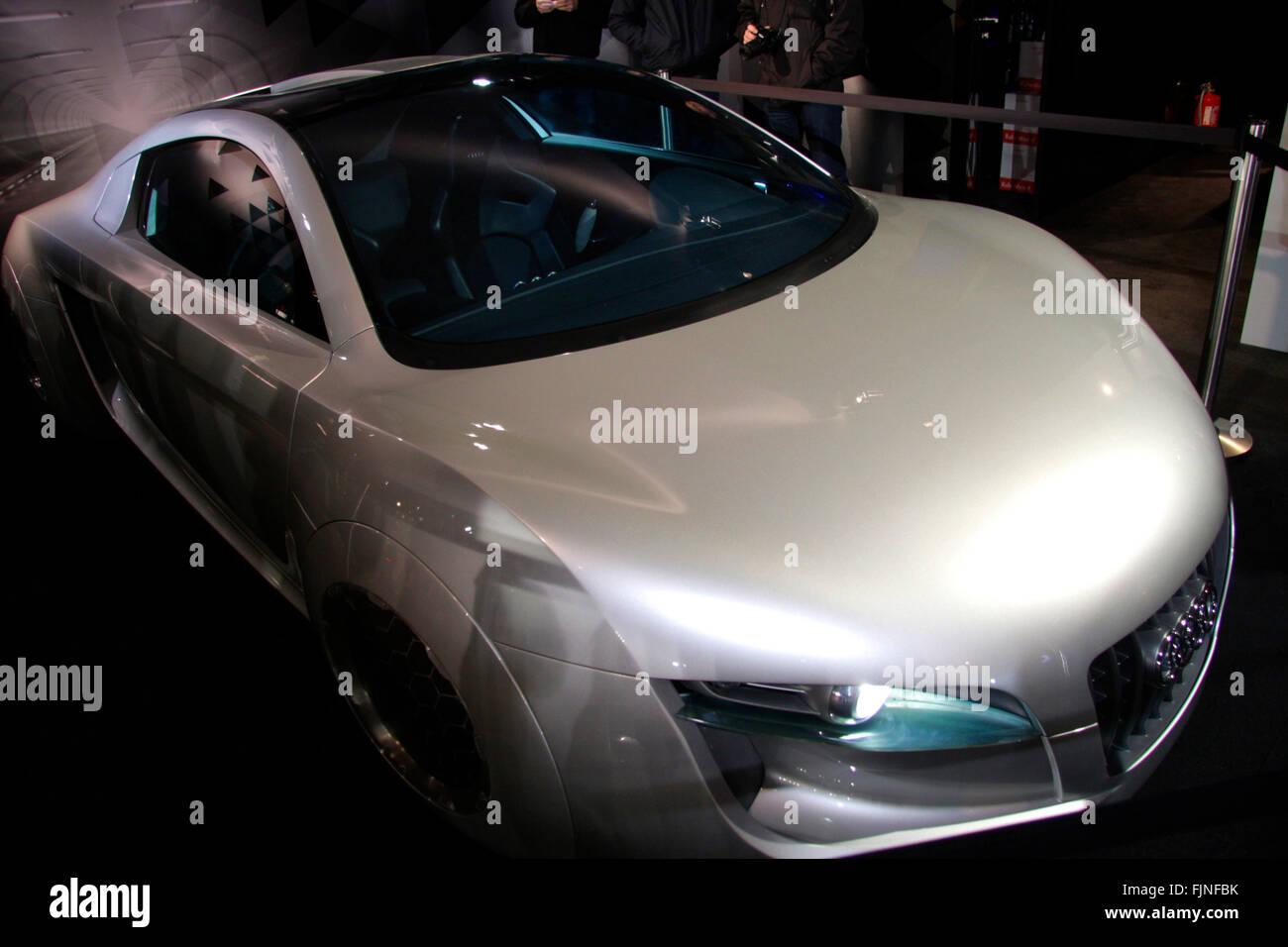 der Prototyp Eines Elektrisch Angetriebenen Audis, Berlin. Stockbild