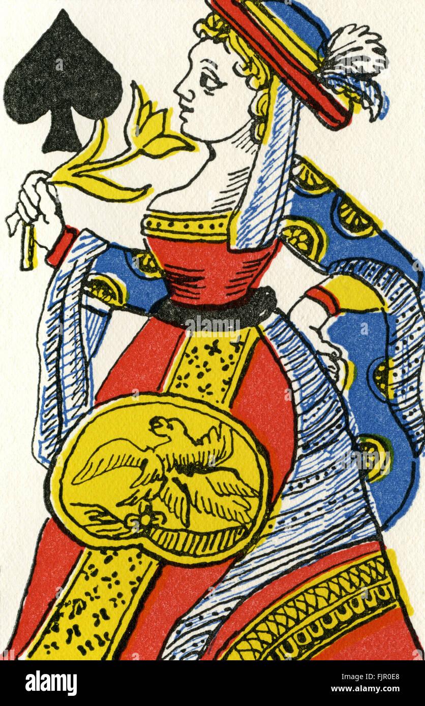 Franzosischen Revolution Discrowned Pique Dame Dame De Weckt