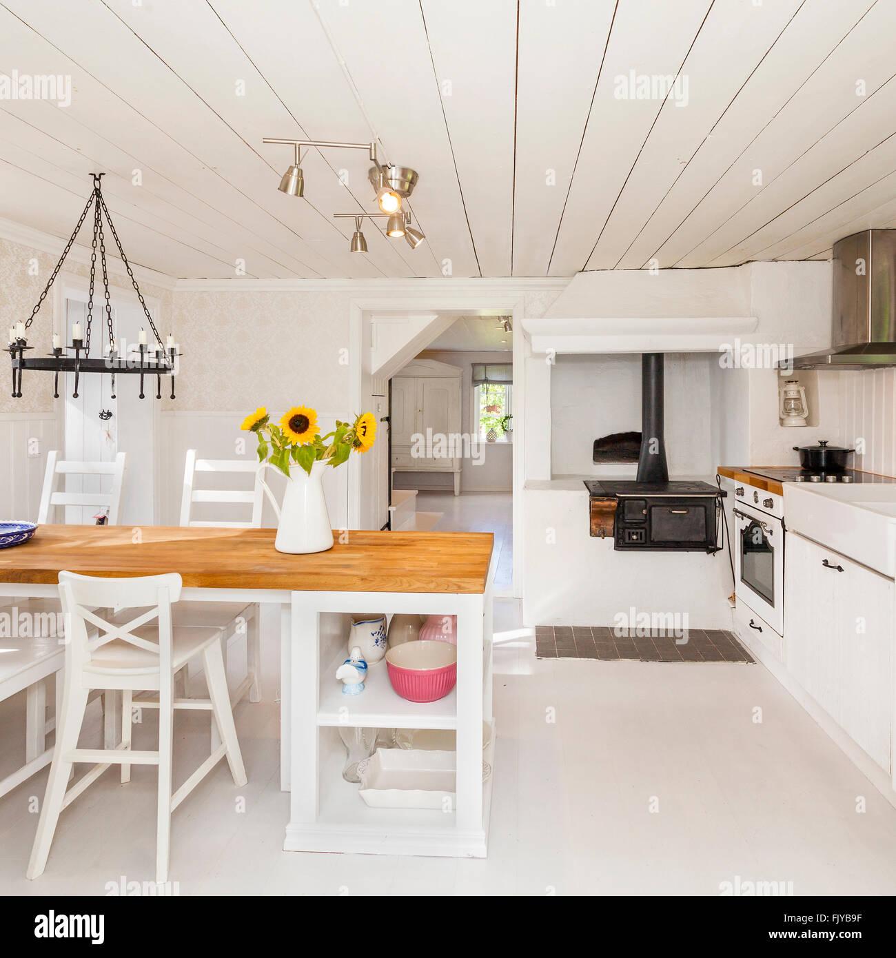 Schwedisches Landhaus Inneneinrichtung