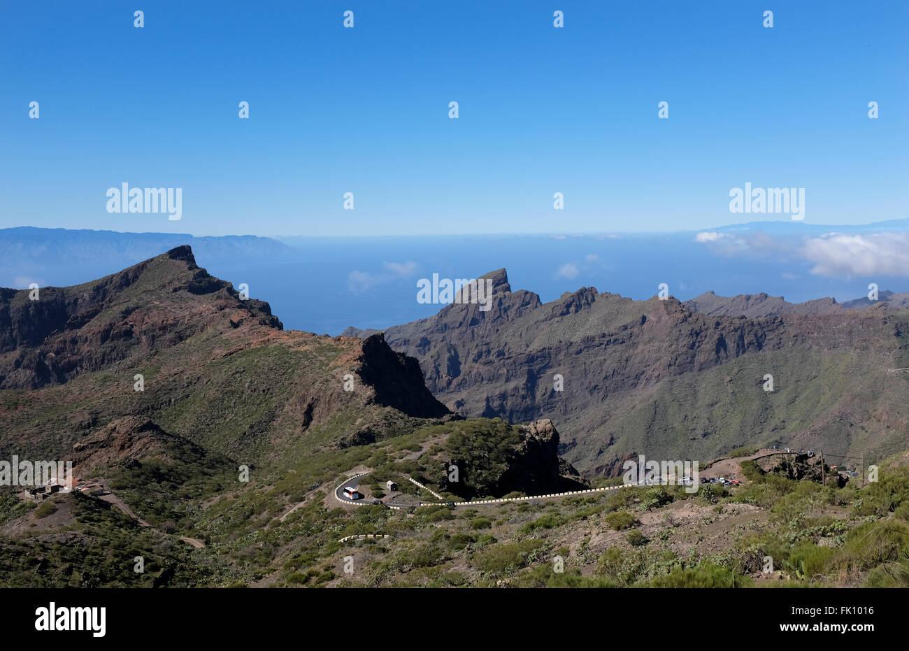Masca, Kanarische Inseln-Teneriffa, Spanien Stockbild