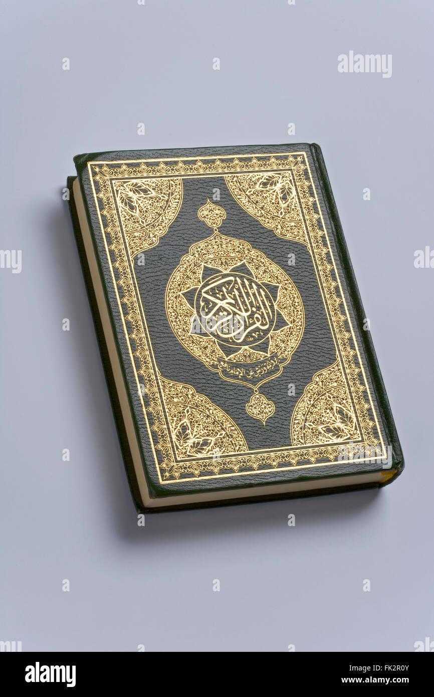 Heiliger Koran Buch der Islam Religion Stockbild