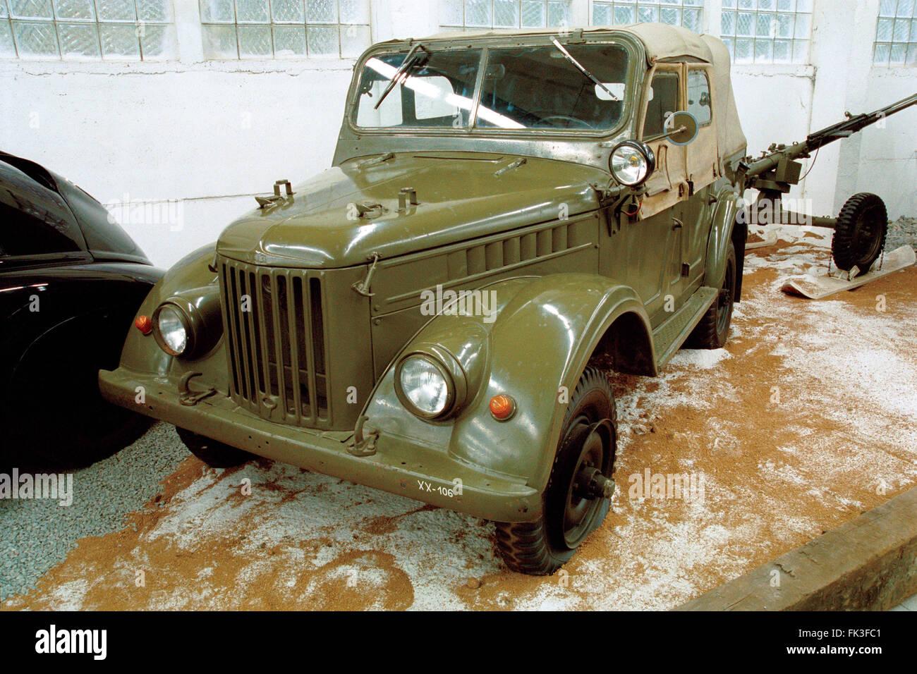sowjetische milit rische gel ndewagen uaz 469 produziert. Black Bedroom Furniture Sets. Home Design Ideas