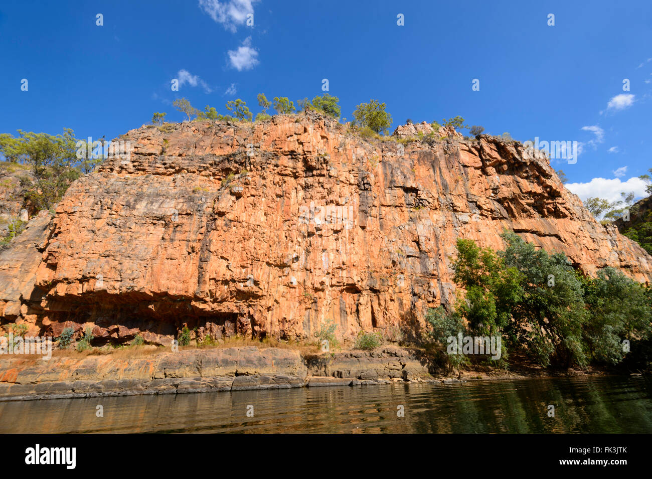 Katherine Gorge, Northern Territory, Australien Stockbild