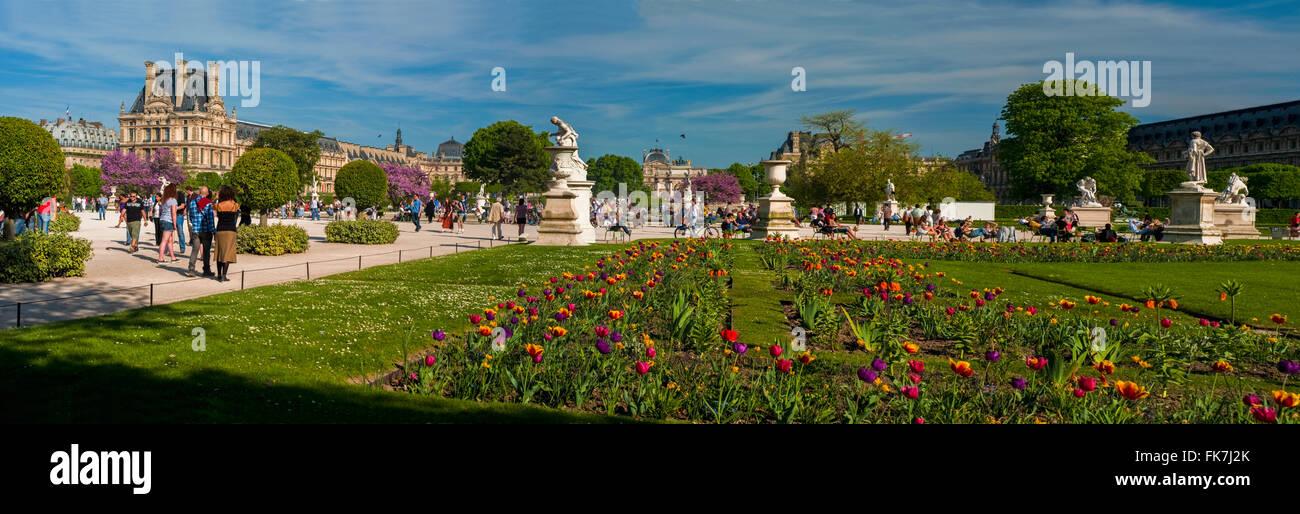 Paris, Frankreich, warmes Wetter, Frühling, im \