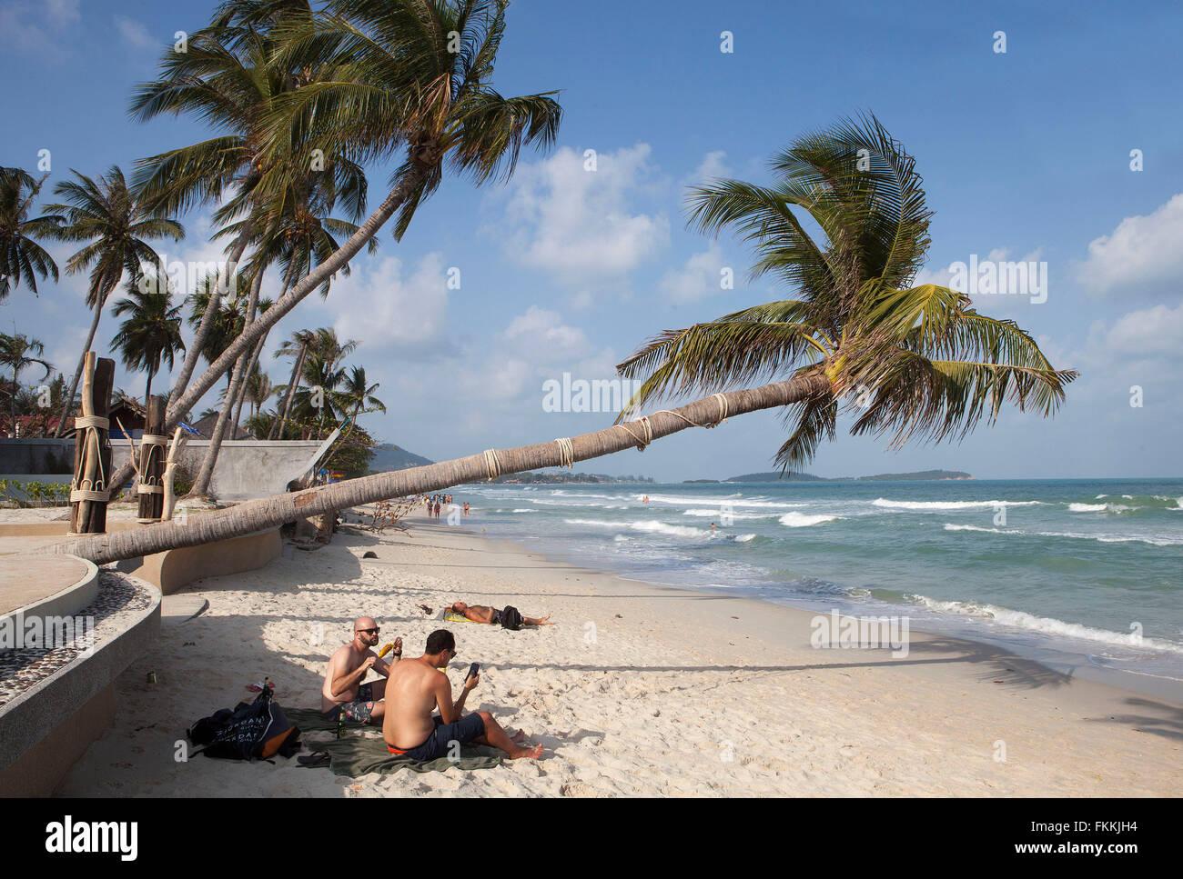 Chaweng Beach Koh Samui Thailand Stockfoto Bild 98161984 Alamy