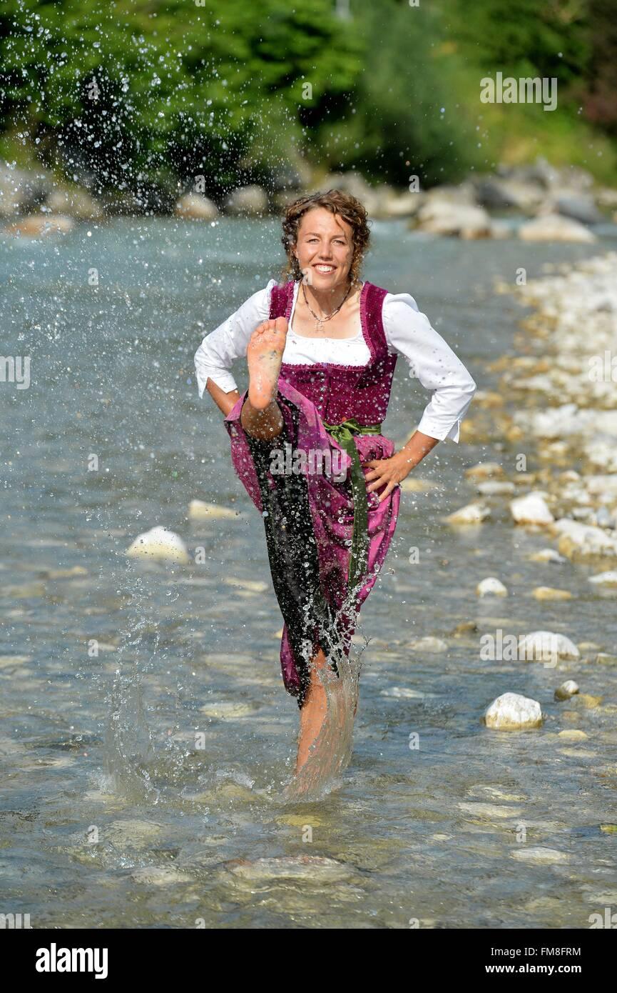exklusiv - fotoshooting mit deutscher biathlet laura