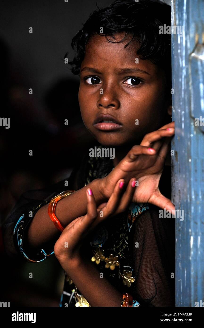 Odisha Mädchen Nummer