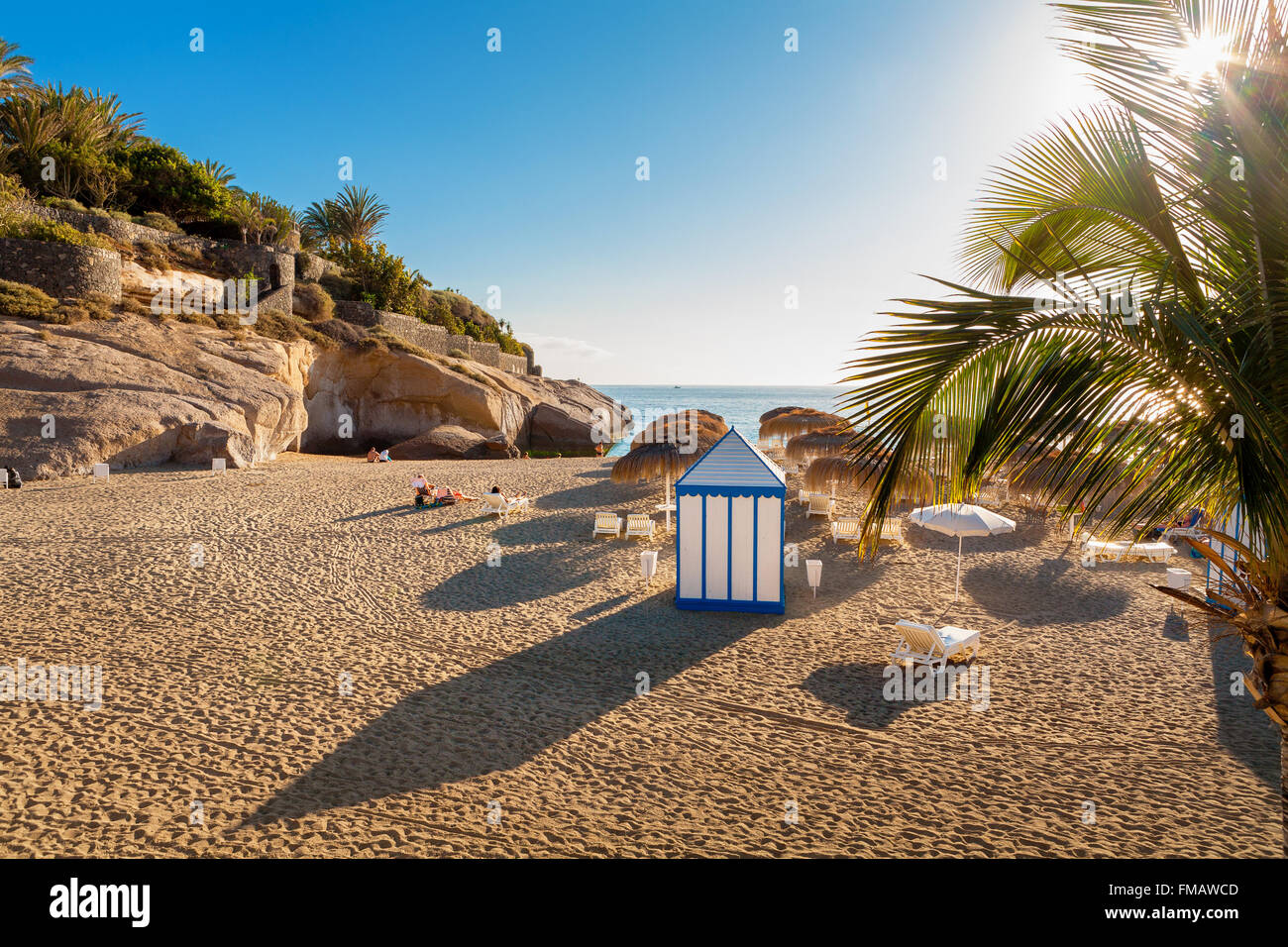 Costa Adeje. Teneriffa, Kanarische Inseln, Spanien Stockbild