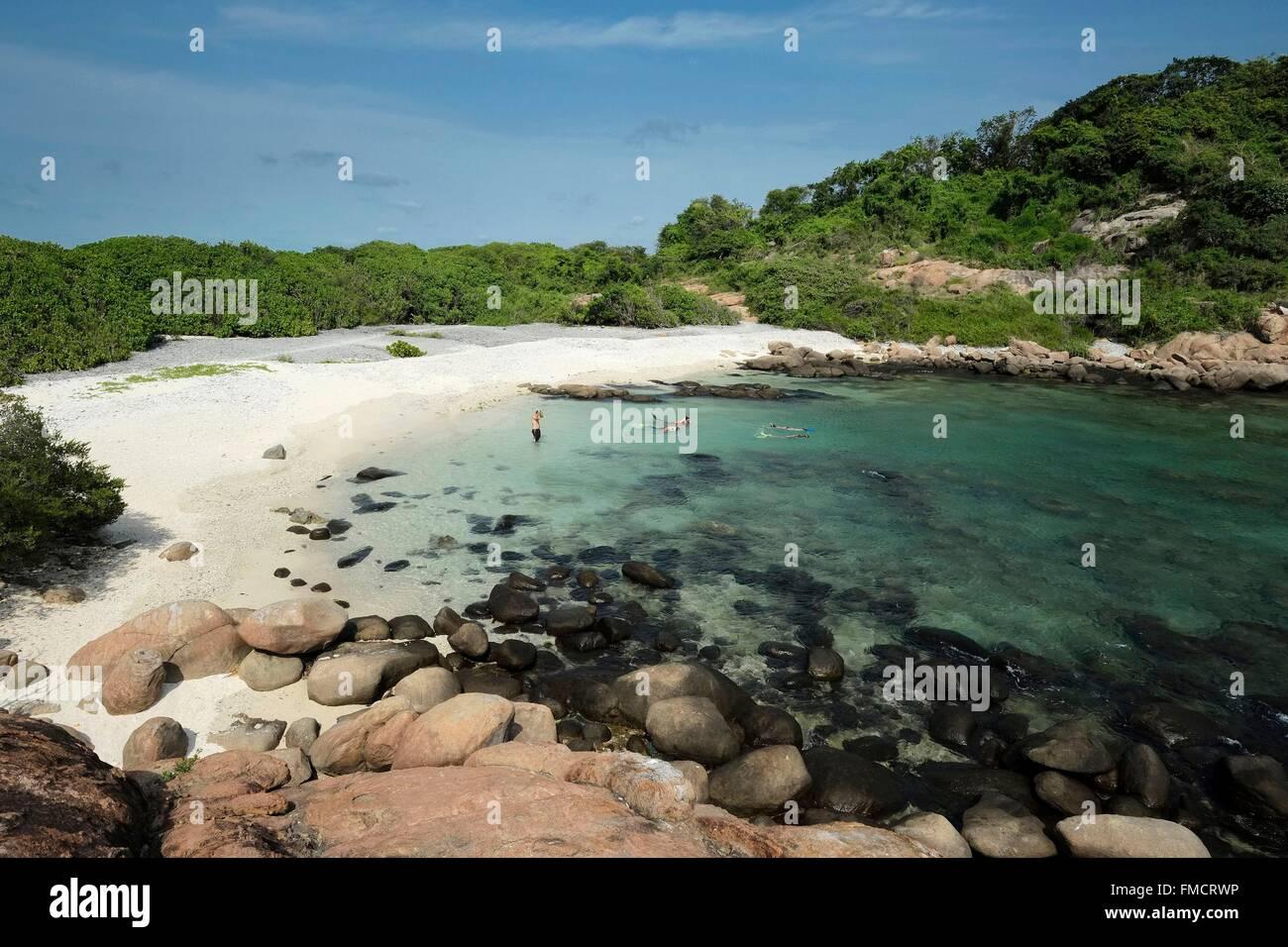 Sri Lanka Eastern Province Nilaveli Pigeon Island Taucher