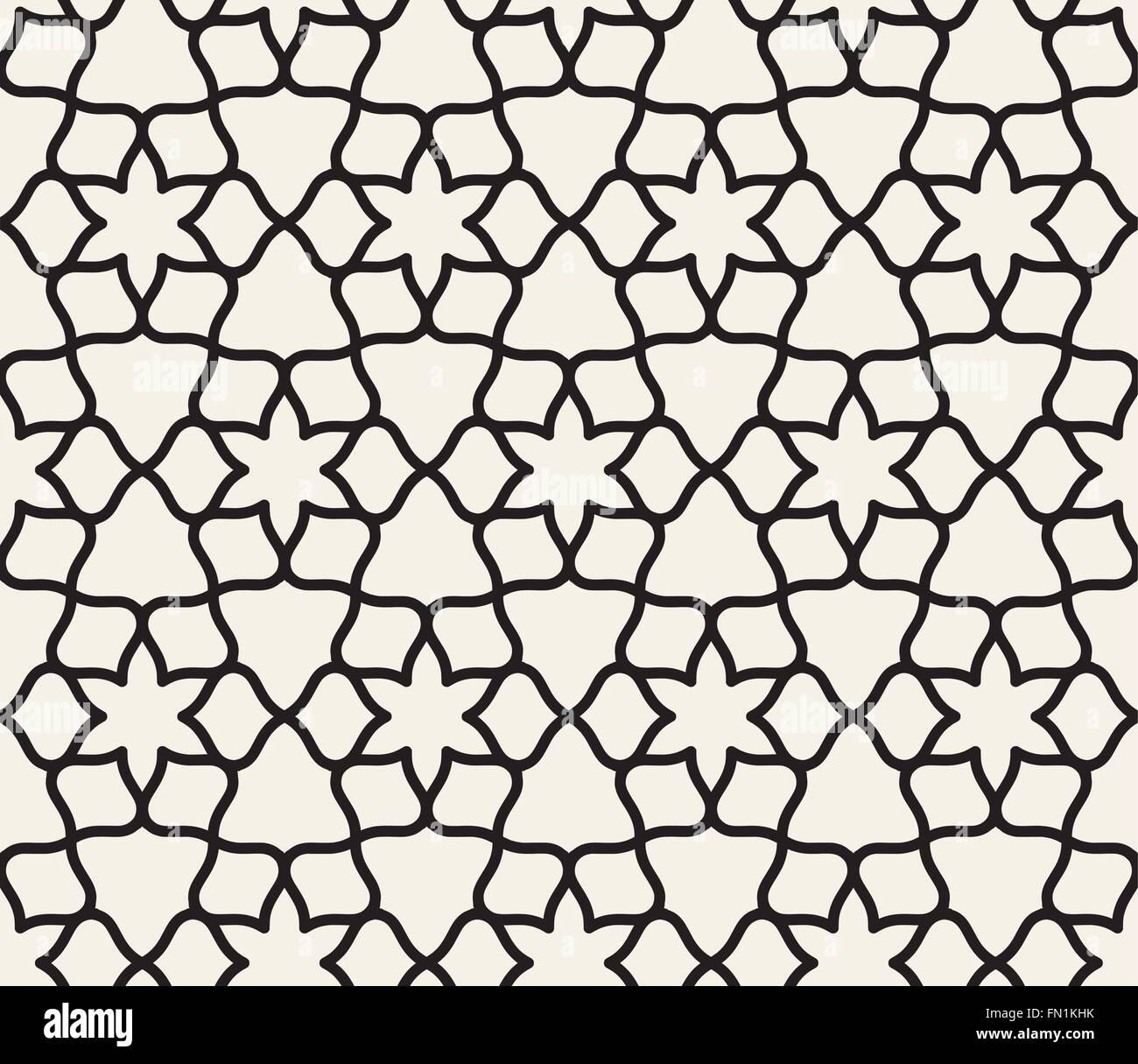 Islamische Musterdesign Vektoren Stockbild