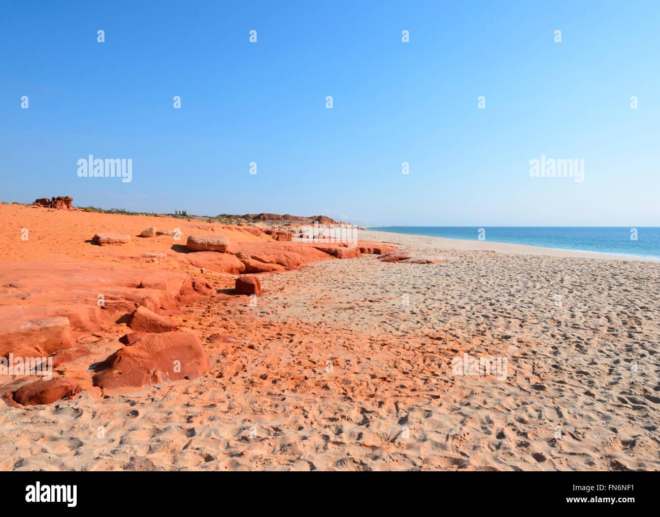 Cape Leveque, Dampier Peninsula Kimberley Region, Westaustralien, WA, Australien Stockbild