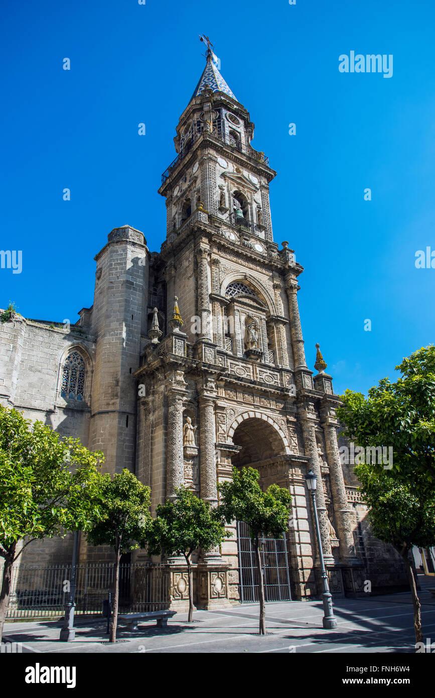 Kirche von San Miguel, Jerez De La Frontera, Andalusien, Spanien Stockbild