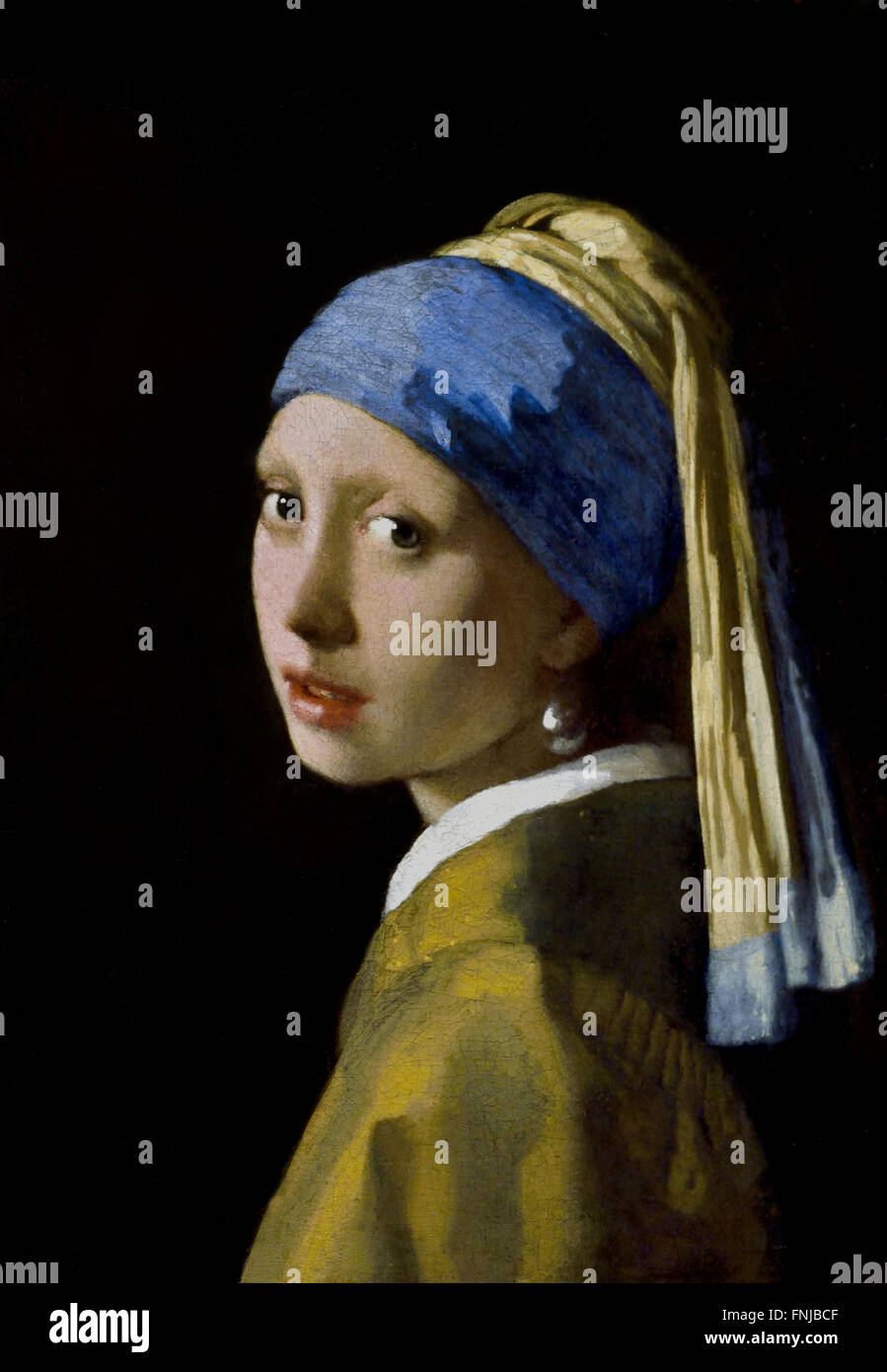 m dchen mit perlenohrring 1665 johannes vermeer oder jan vermeer 1632 1675 niederlande. Black Bedroom Furniture Sets. Home Design Ideas