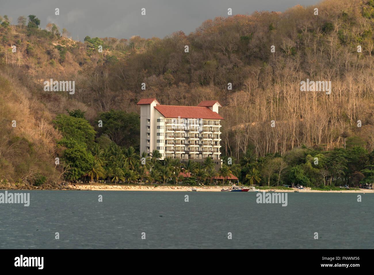 Laprima Hotel Labuan Bajo Flores Indonesien Asien Stockfoto